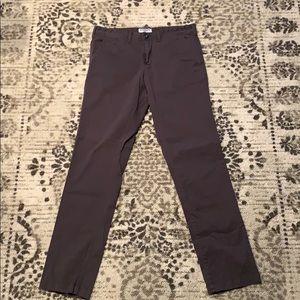 Express Men's Grey Khakis 32x34